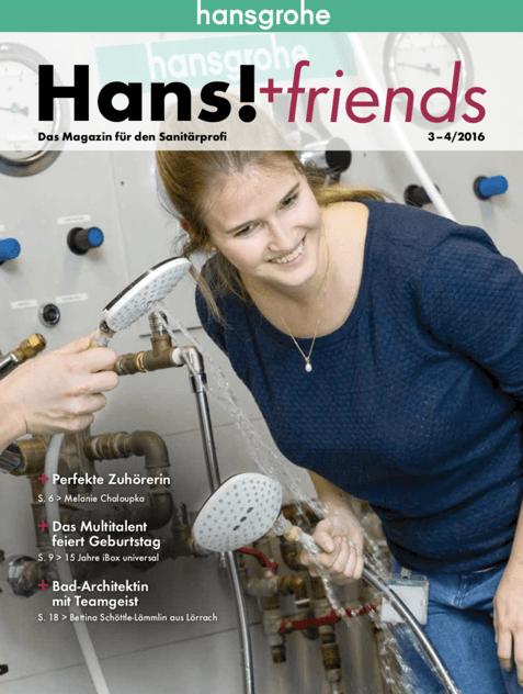 Artikel über uns in der Hans!+friends