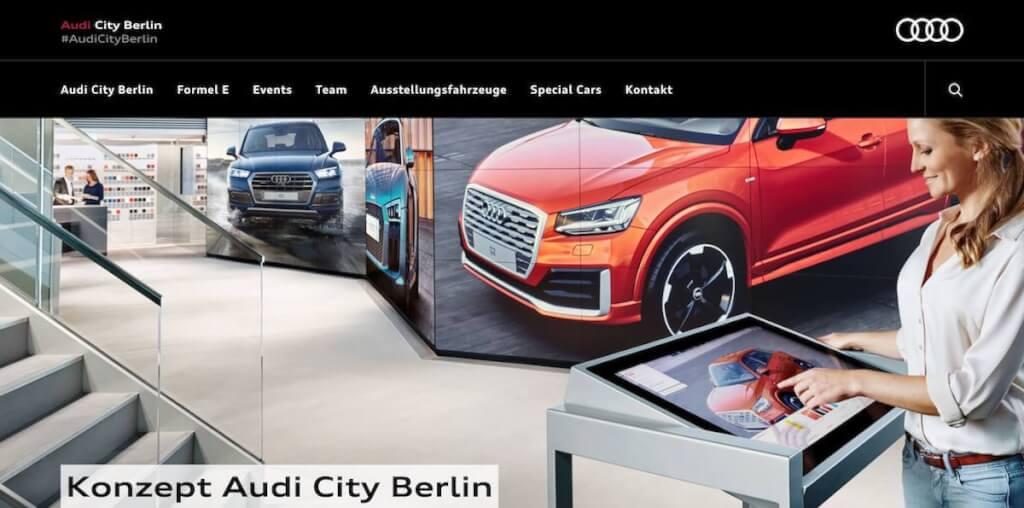 Konzept Audi City Berlin