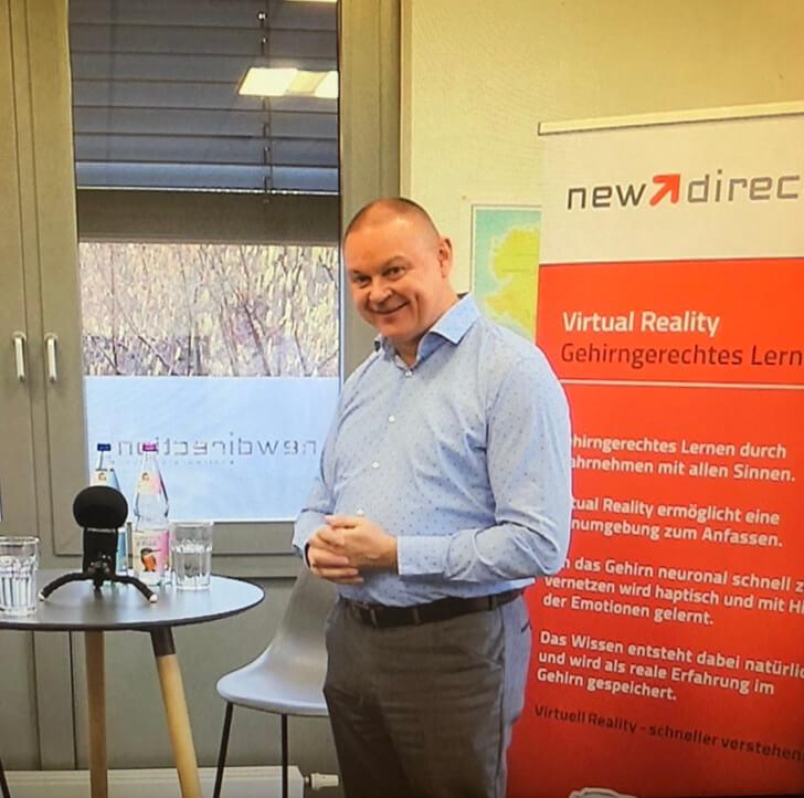 Drei Fragen an Robert Ehlert - unser Speaker im Interview