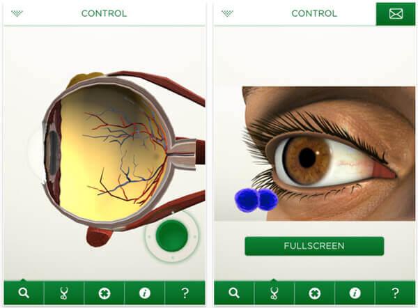 eye decide app Augmented Reality im Gesundheitswesen