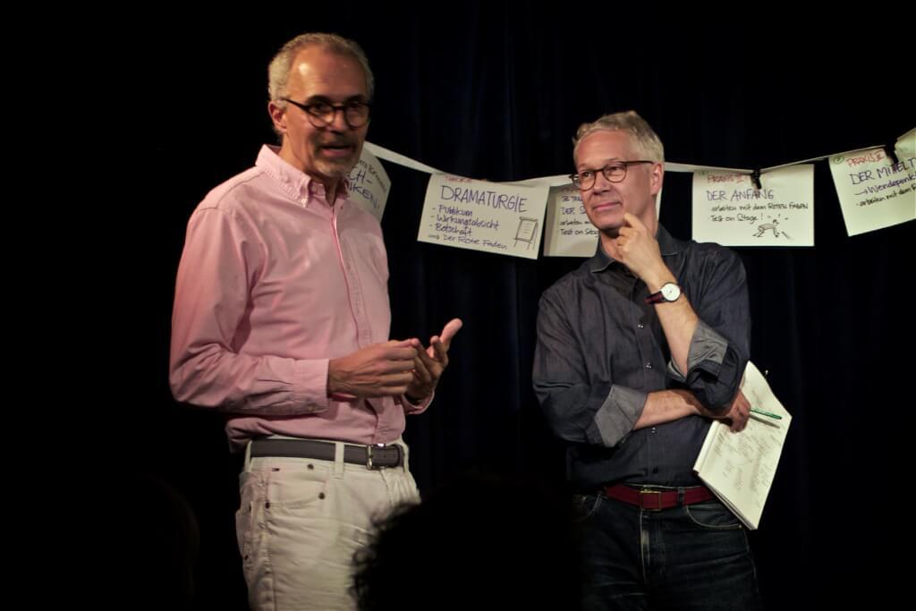 GSA Mentee WS 2019 Berlin reden lernen Matthias Messmer