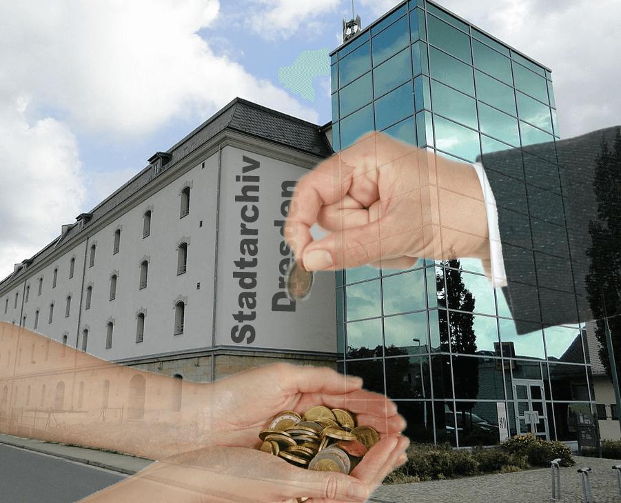 Stadtarchiv Dresden: Wie viel Sie die neue Gebührenverordnung kostet