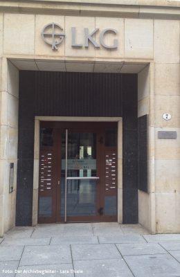 Eingang zur ZentraleFilmlesestelle in der Kreuzgasse