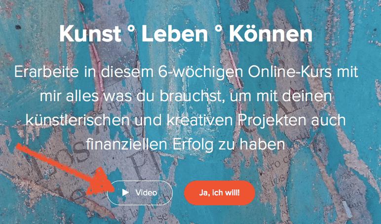 art up Kunst Leben Koennen Startseite Pfeil