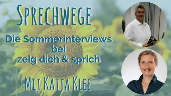 022: Sprechwege mit Katja Klee – Mit einer persönlichen Geschichte sichtbar werden