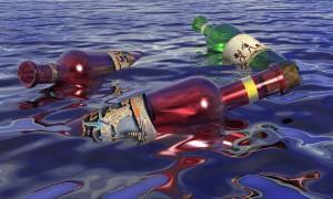 SchwimmendeFlaschen