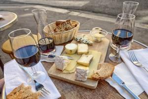 Rotwein & Käse