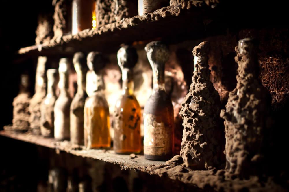Edelsuesse Weine Flaschenschimmel