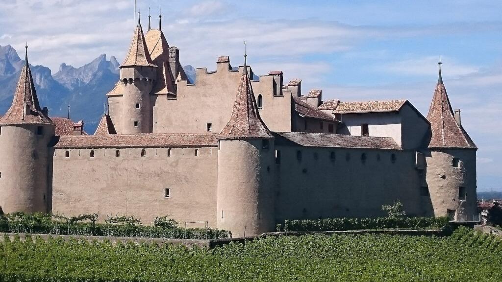 Wege zum Wein Schloss