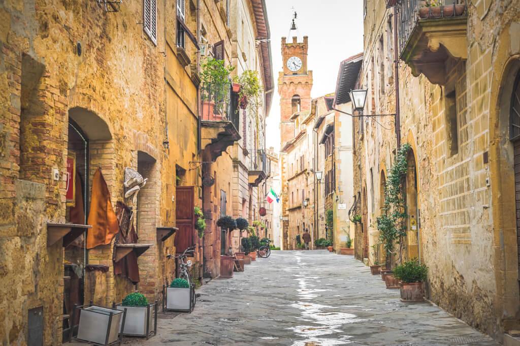 Toskana Reise Sienna