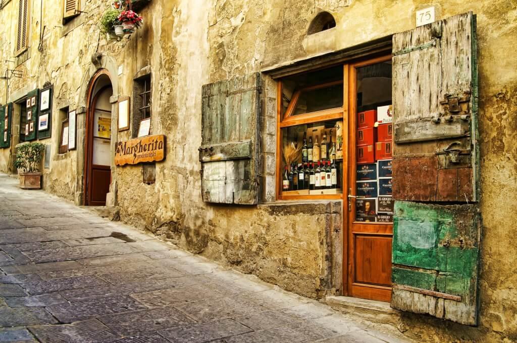 Toskana Reise Strasse