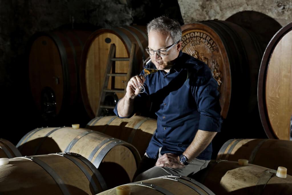 Jan Eymael - der Scheurebenkönig vom Weingut Pfeffingen