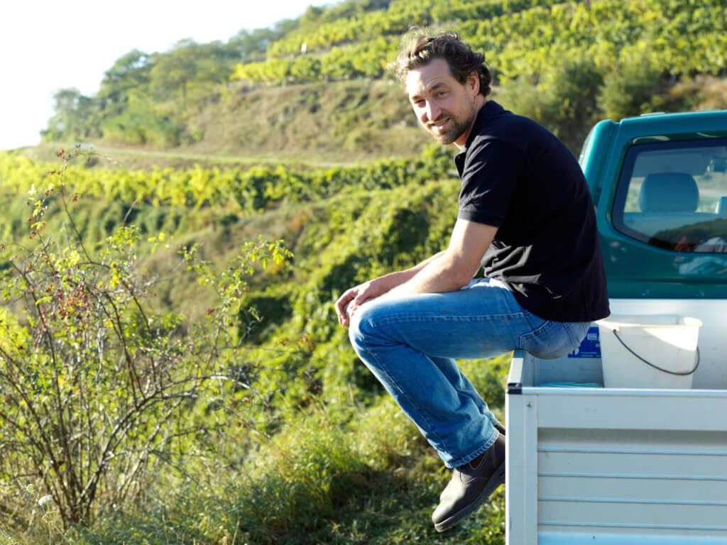 Lucas Pichler - der Wachauer Top-Winzer erinnert sich an die Tage bei Hans-Günter Schwarz