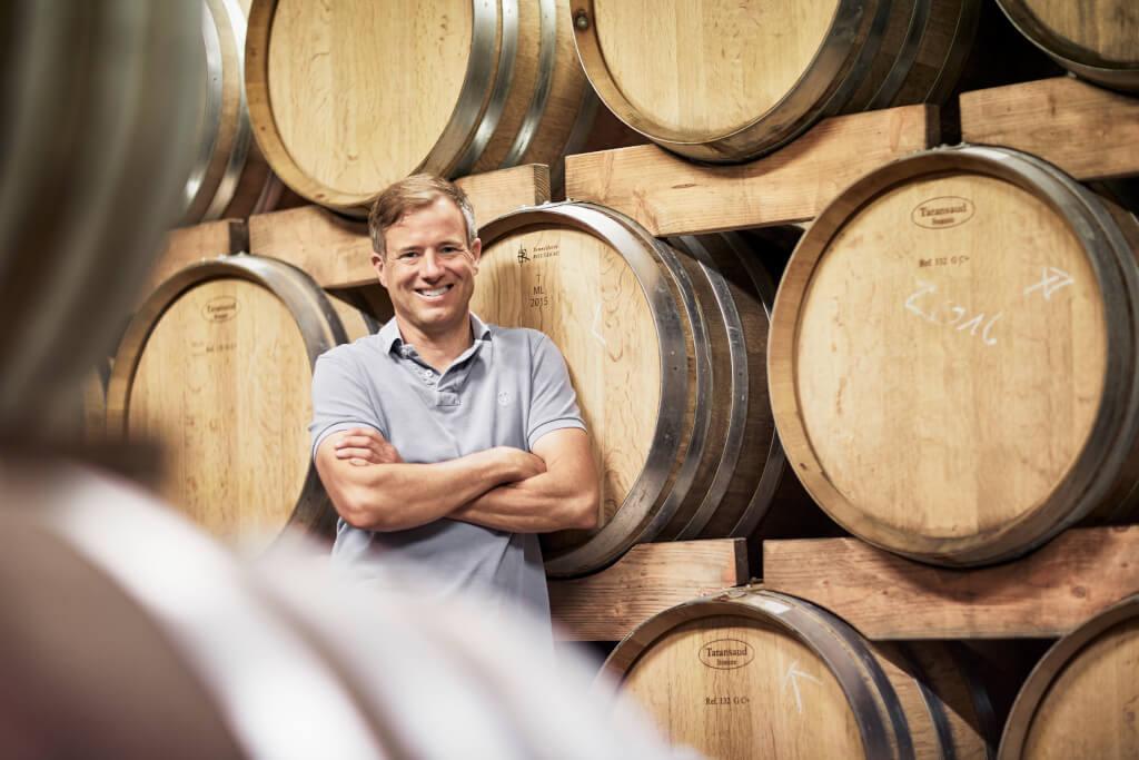 Markus Woehrle im Keller