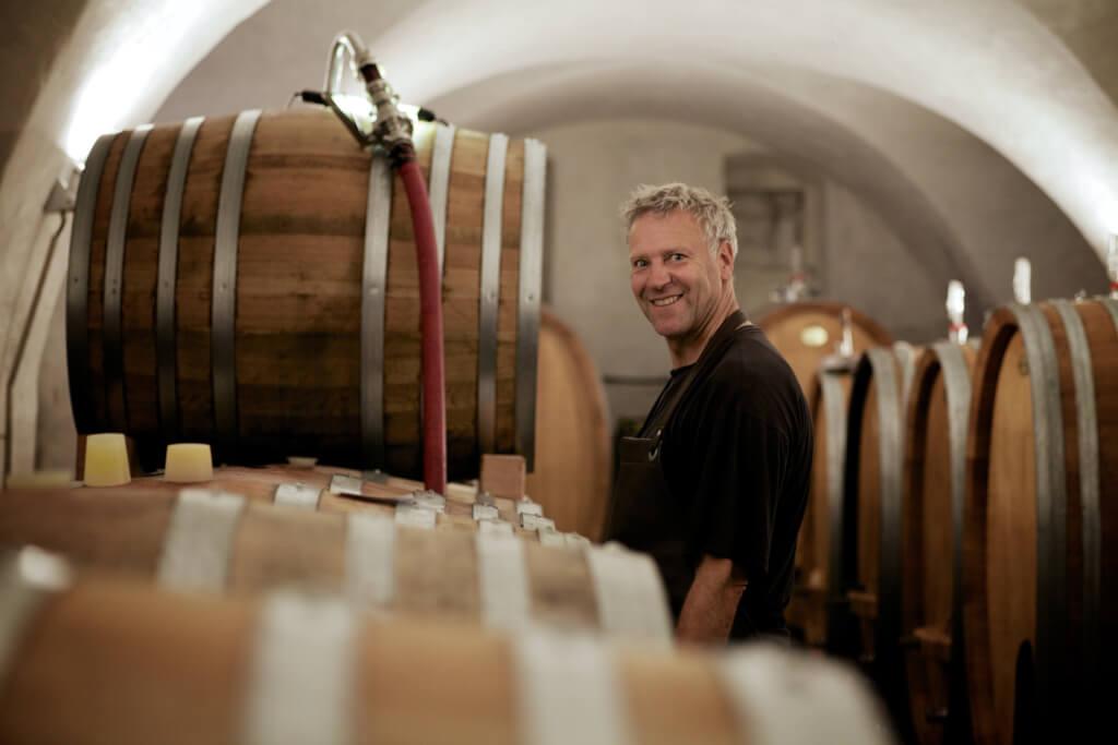 Frank John - Vordenker und Berater in Sachen ökologischem und bio-dynamischem Weinbau