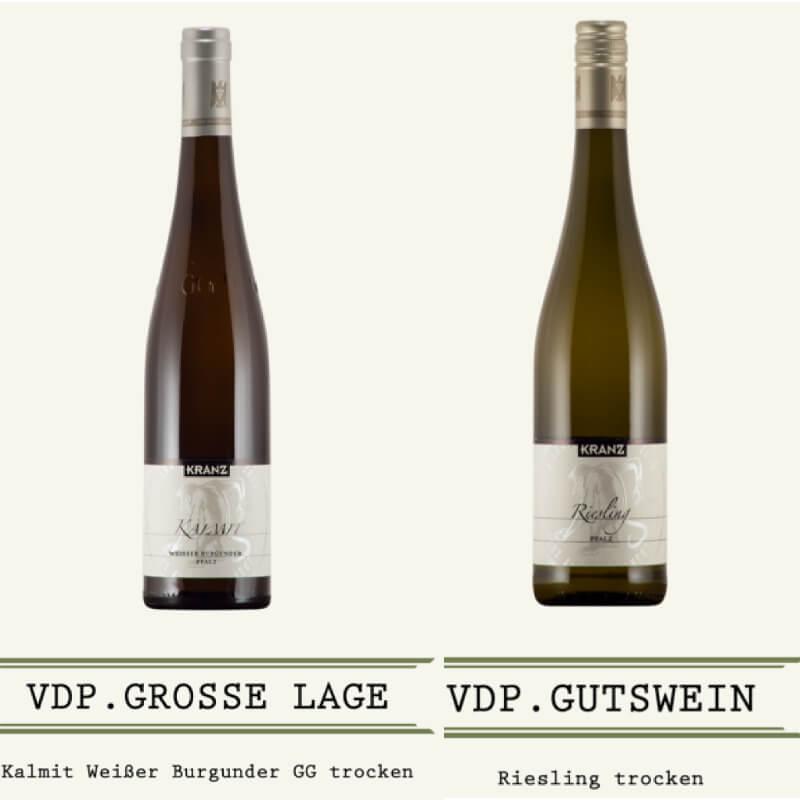 Kranz Tasting Riesling Weissburgunder GG