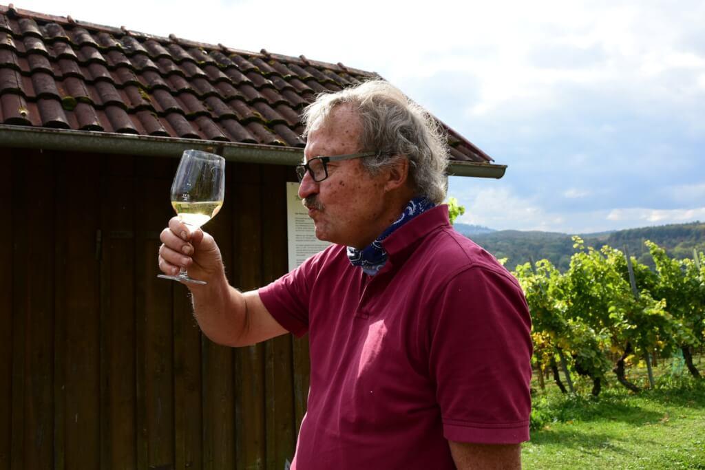 Helmut Dolde - aka Mister Silvaner mit Bergweinen vom Rande der schwäbischen Alb