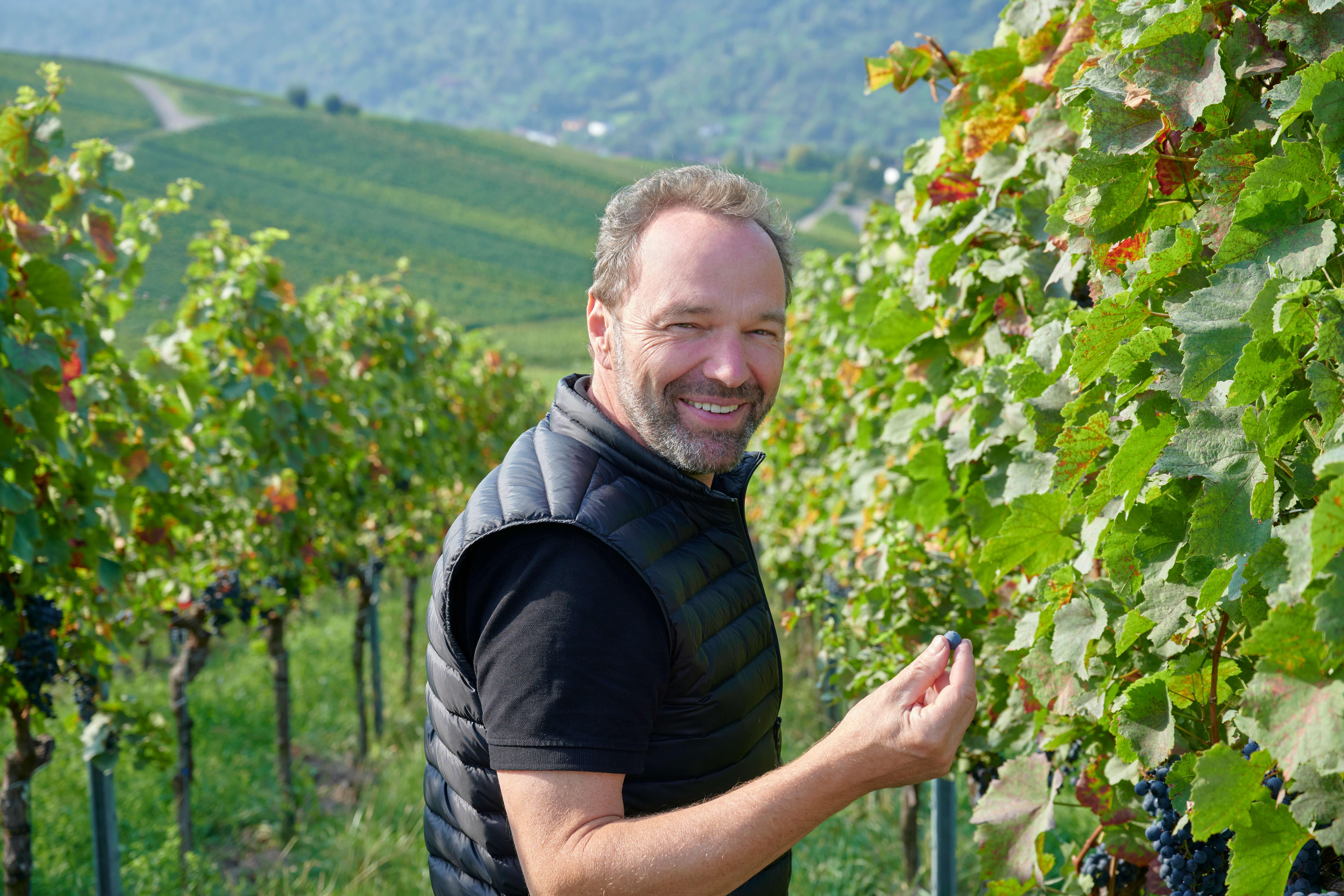 Rainer Schnaitmann - immer auf der Suche nach dem perfekten Wein
