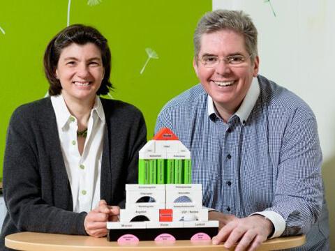 Marketingberatung 'Die Heldenhelfer': Andreas Pfeifer und Katharina Grau