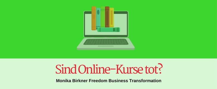 Sind Online-Kurse tot?