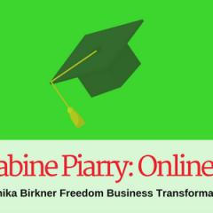 [UPDATE] Lust auf eine eigene Akademie? Von Sabine Piarry lernen