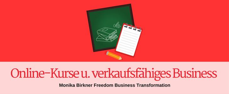 Verkaufsfähiges Business durch Online-Kurse: Case Study