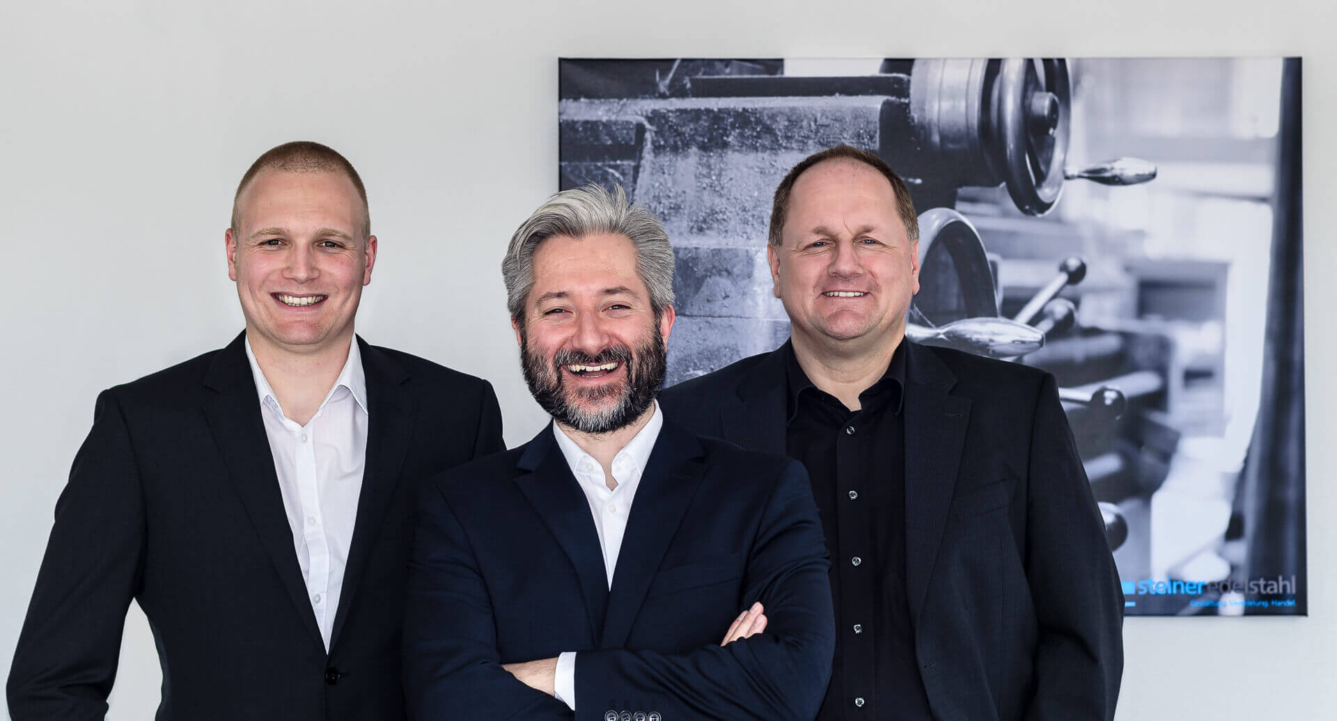 v.L.n.R.: Sören Walter, Daniel Steiner, Hans Raschen