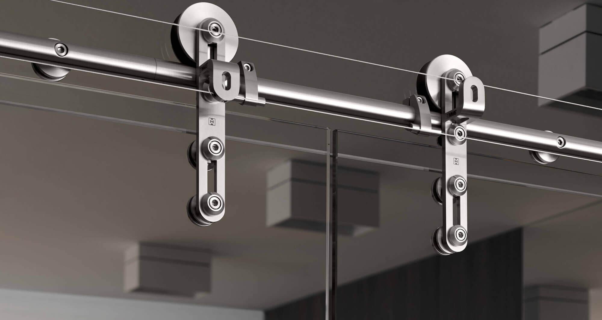 glasduschen und glast ren mit edelstahl beschl gen. Black Bedroom Furniture Sets. Home Design Ideas