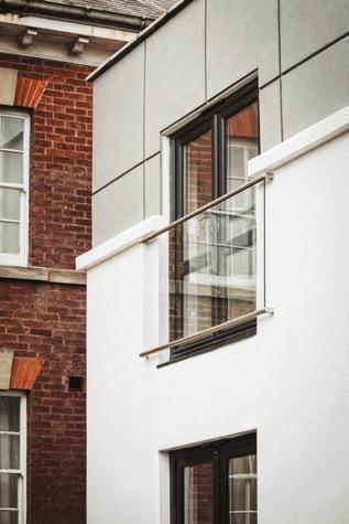 Steineredelstahl Franzoesischer Balkon