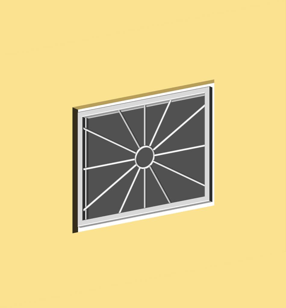 Fenstergitter sonne