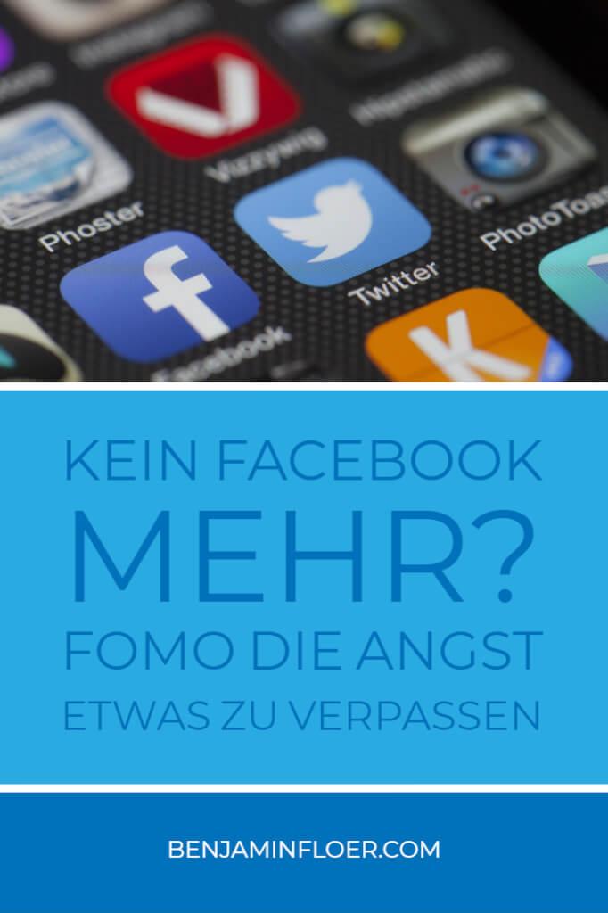 Kein Facebook mehr? FOMO Die Angst etwas zu verpassen