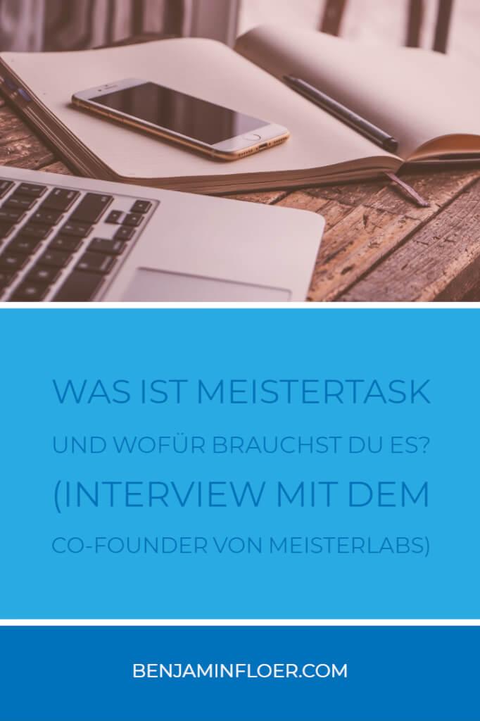 Was ist Meistertask und wofür brauchst du es? | (Interview mit dem Co-Founder von Meisterlabs)