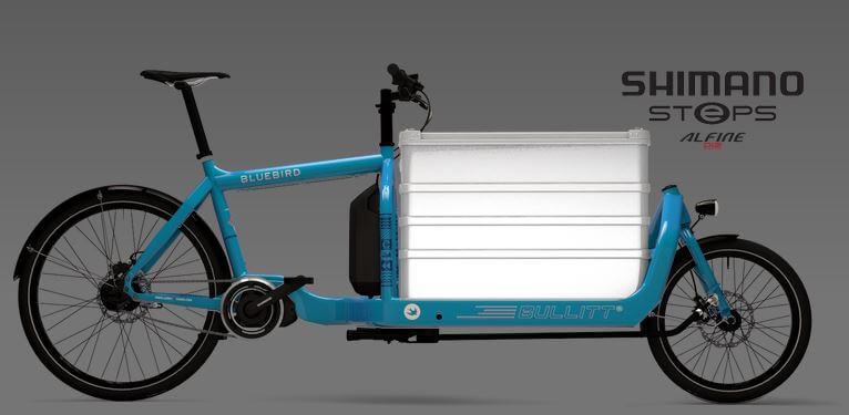 E-Bike Lastenfahrrad. Umweltfreundlich, Schnell Und Cool