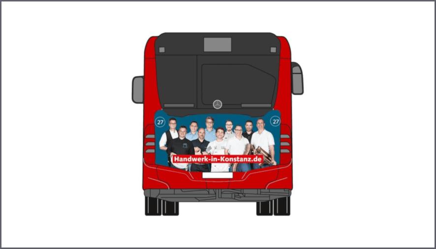 Wir fahren Bus