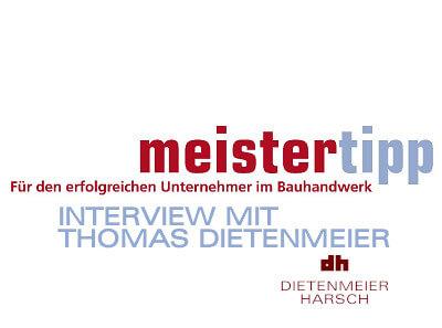 Geschäftsführer Thomas Dietenmeier im Interview