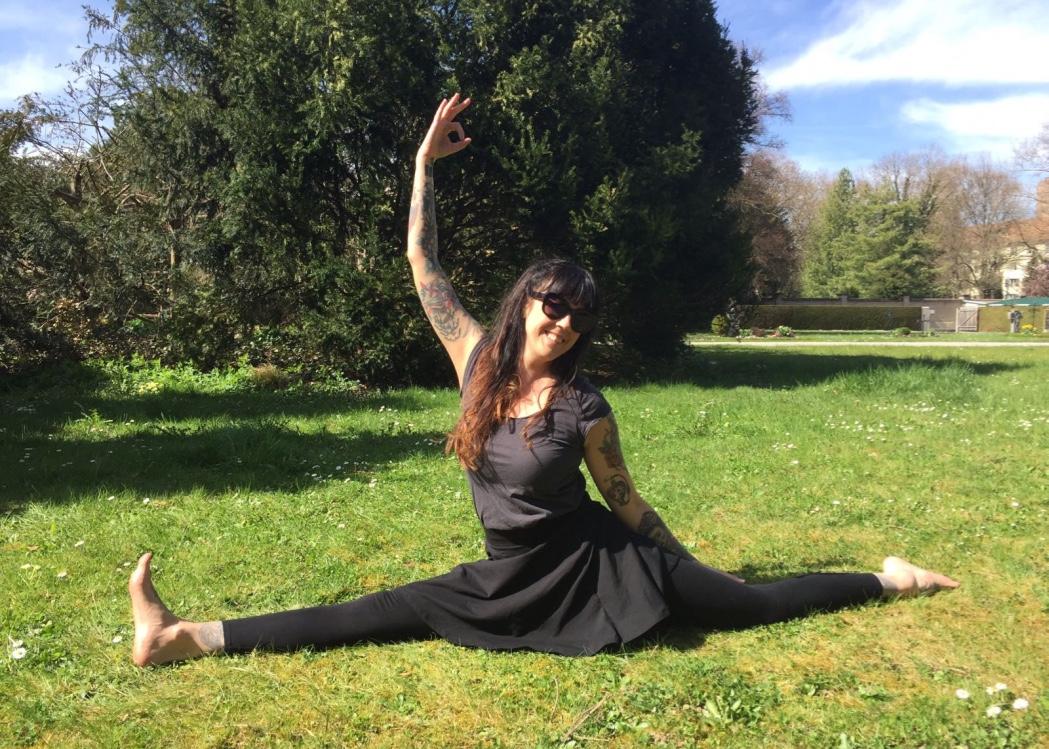 Alexandra Berg, Yogalehrerin und Fotografin