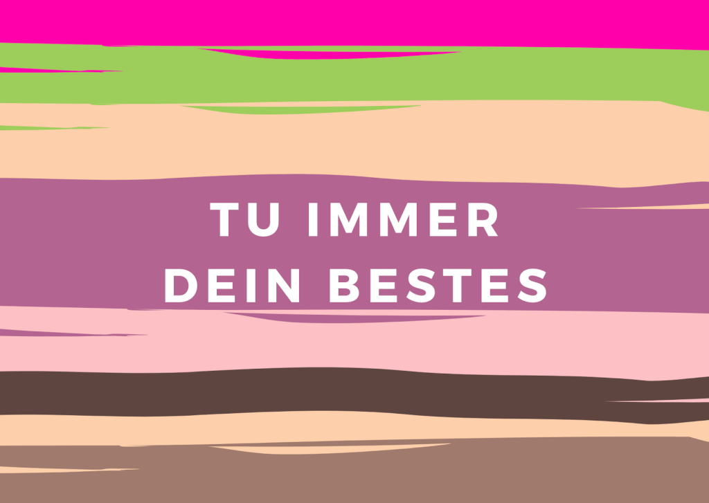Journaling-Session: Agreement Nr. 4 – Tu immer dein Bestes
