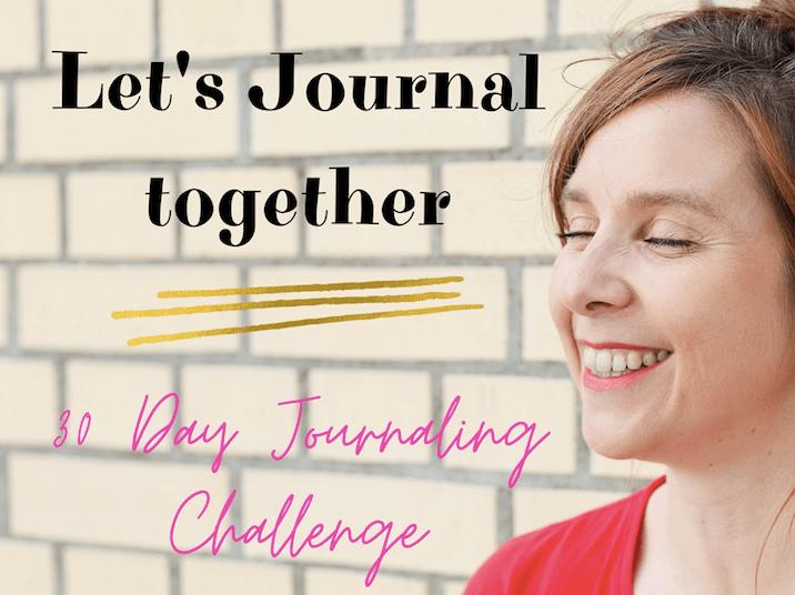 Journaling Challenge Sandra