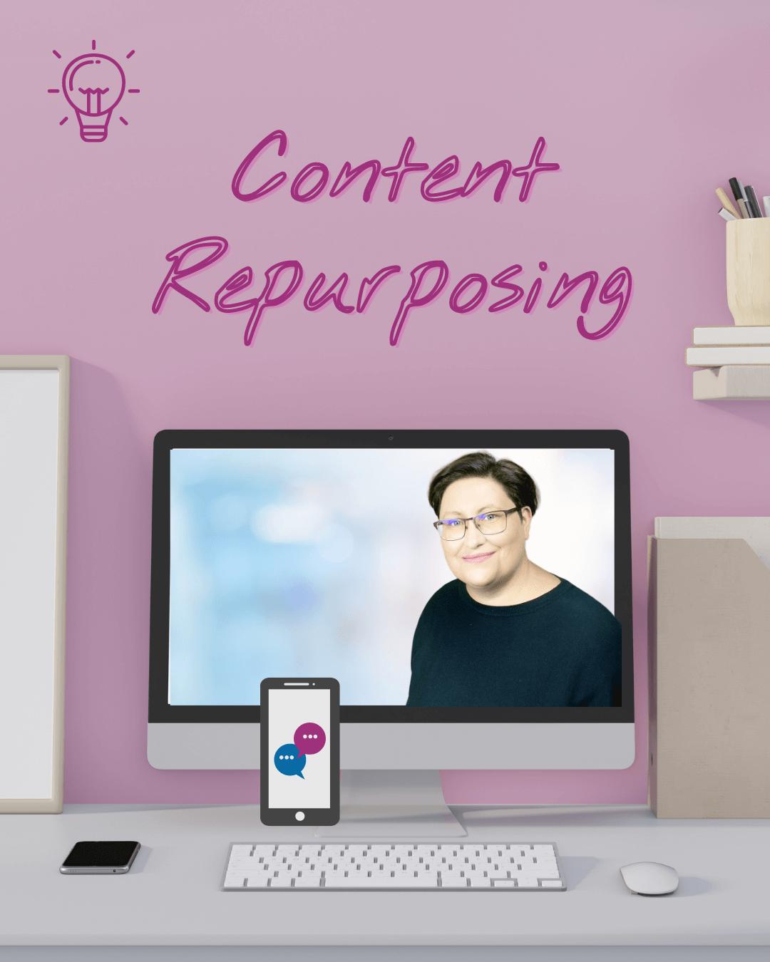 Content Repurposing Service und Beratung
