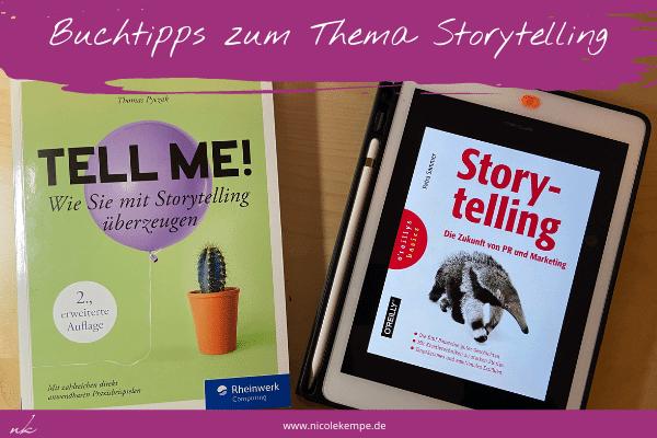 zwei Buchtipps zum Thema Storytelling