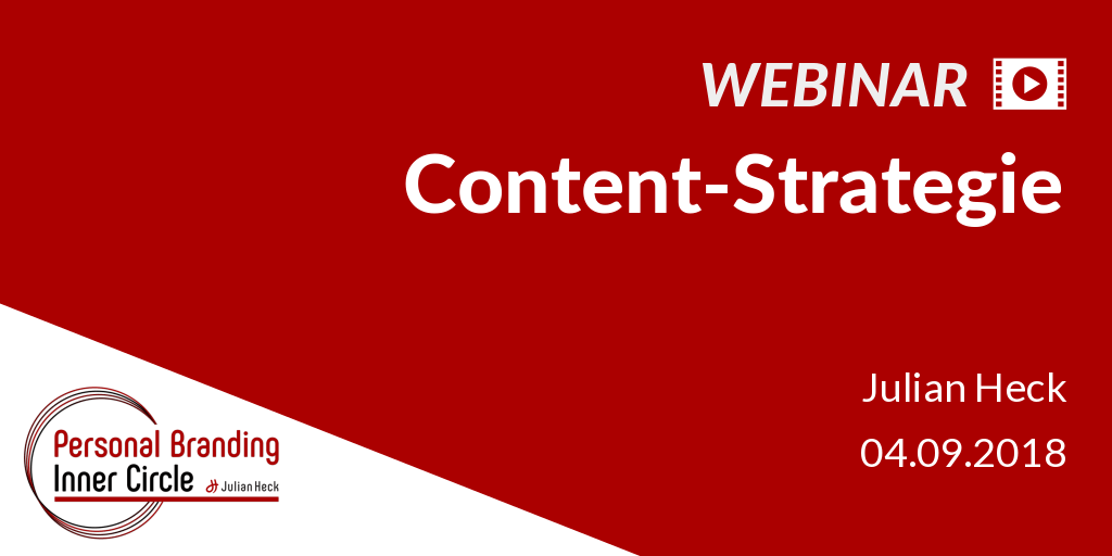 Webinar: Content-Strategie