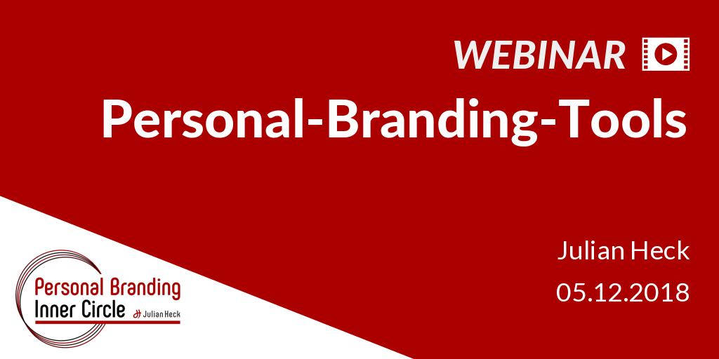 Webinar: Personal-Branding-Tools