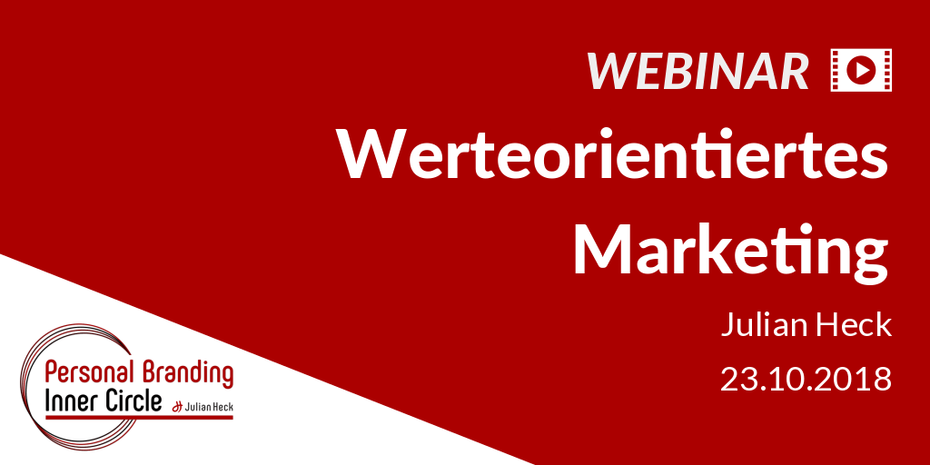 Webinar: Werteorientiertes Marketing