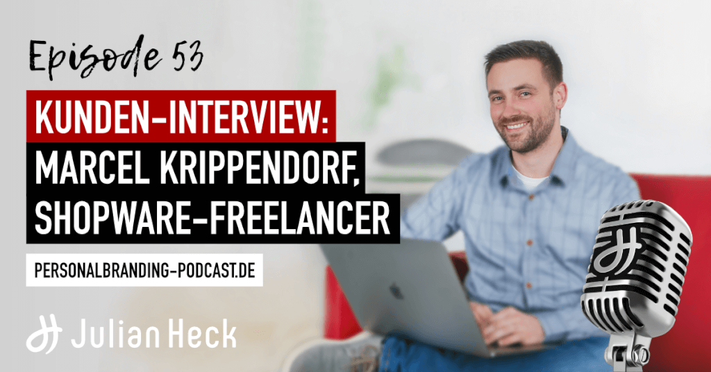 Kunden-Interview: Marcel Krippendorf, Shopware-Freelancer