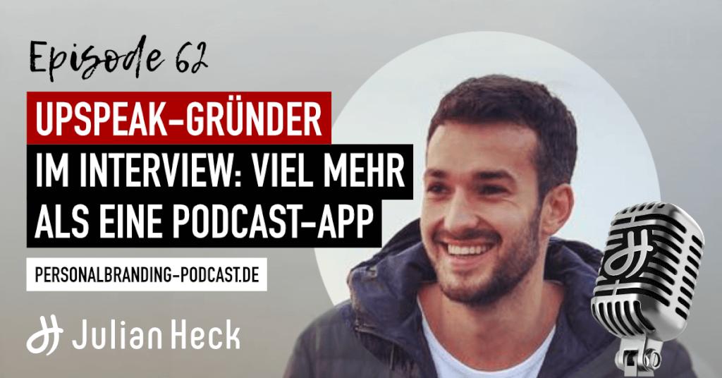 Upspeak-Gründer im Interview: Viel mehr als eine Podcast-App