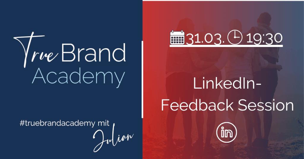 LinkedIn-Feedback-Session (31.03.2021)