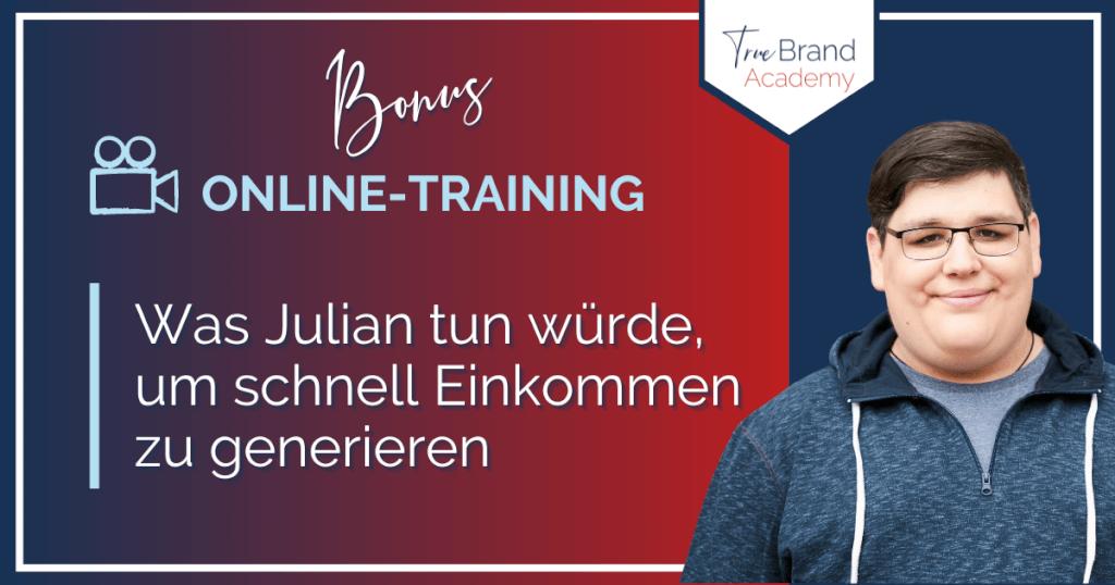 Bonus-Training: