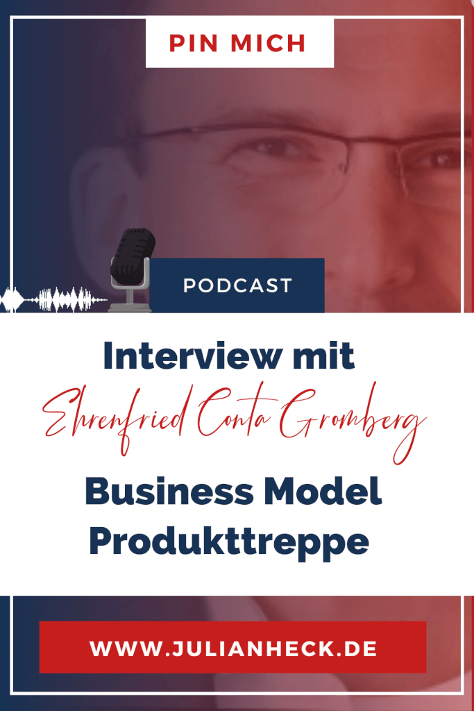 Pin Interview mit Ehrenfried Conta Gromberg