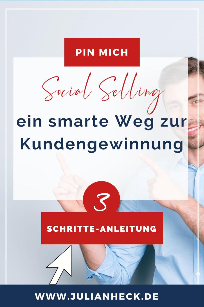 Social Selling in 3 Schritten Pin