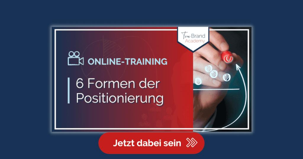 Werbung Blog 6 Formen der Positionierung